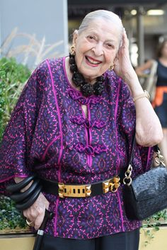 ADVANCED STYLE: Advanced Style Profile Rose:100 Years Old Never Looked So Good