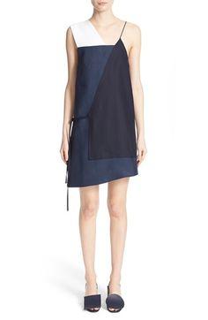 Jacquemus 'La Robe Liline' Sleeveless Wool & Linen Dress