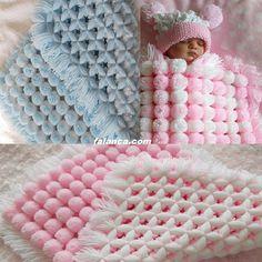 ponponlu bebek battaniyesi video konusuna ait görseller ve resimler   Falanca Kadın Portalı