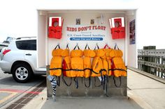 """National Safe Boating Week started Saturday and the theme this year is """"Wear it,"""" it being your life jacket."""