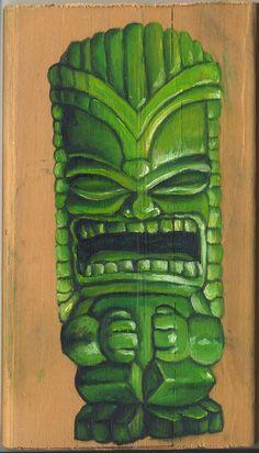 Green Tiki!