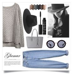 """Glamour"" by foreverfashionfever101 ❤ liked on Polyvore featuring Michael Kors, Miu Miu, rag & bone, Cushnie Et Ochs, NARS Cosmetics and Urban Decay"