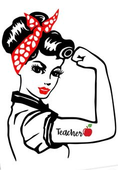 Image result for rosie the riveter svg | Cricut | Rosie ...
