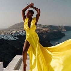 @JuicyM Rent Dresses, Black Pigment, Black Girls Rock, Luxury Beauty, Dark Skin, Dress Collection, Wrap Dress, African, Photoshoot