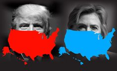 Toggle between the candidate's maps for a state-by-state look at Clinton and Trump – and 50 reasons to pause before casting your vote for either candidate.
