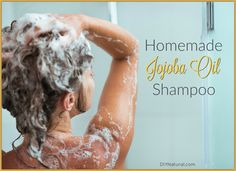 This homemade shampoo is made with Jojoba oil, which is excellent for dry hair…