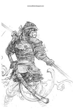Sun Wukong by mattjepiuh - Google Search