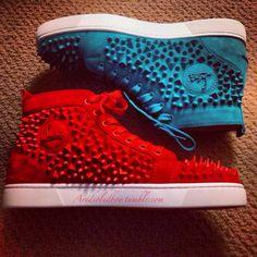 Christian Louboutin sneakers, please!