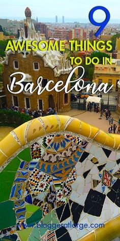 Hands down VIP tickets to go inside Sagrada Familia is thee MUST DO in Barcelona, but here are 8 others things that we discovered and really loved too.  #Barcelona #Traveltips