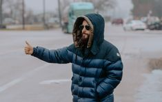 Jared Leto has been hitchhiking across America to promote his band 30 Seconds To Mars' upcoming new album 'America'