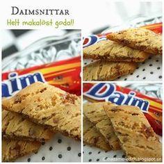 Madame Edith - Enkla recept och Klassisk inredning: Daimsnittar