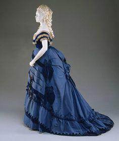 philadelphia museum of art gown   Evening Dress 1870 The Philadelphia Museum of Art
