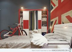 15 Bedroom Wardrobe Cabinets of Different Colors | Home Design Lover