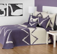 Ruca Grape Bedspread Set by Bianca Bed Linen Australia, Pretty Bedroom, Buy Bed, Bed Linen Sets, Quilt Cover Sets, Cool Beds, Linen Bedding, Comforter, Bedding Collections