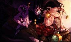 Bard+Kindred ^-^ -league of legends New champion