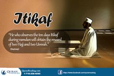 Itikaf – An Act of Worship for the Fasting Month