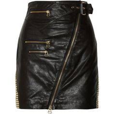 113379915e Designer Clothes, Shoes & Bags for Women | SSENSE. Black Leather Mini SkirtReal  ...