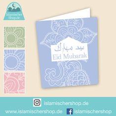 Eid Klappkarte Einladungskarte Grußkarte von NuriyyaShop auf Etsy