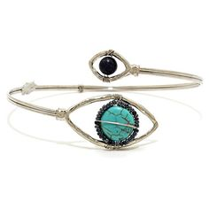Evil Eye Jewel Upper Arm Cuff Bracelet / AZMIAB004-GMU Arras Creations http://www.amazon.com/dp/B00VKM3Z6I/ref=cm_sw_r_pi_dp_Oaajvb0W60MRR