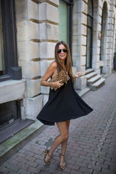 If your closet is lacking serious inspiration, find new ways to style the clothing you already have with these 20 outfits we want to wear for winter. 50s Outfits, Chic Outfits, Ball Dresses, Evening Dresses, White Mini Skirts, Perfect Little Black Dress, Fashion Jackson, Flattering Dresses, Types Of Dresses
