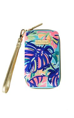 Lilly Pulitzer Tiki Palm iPhone 6/6S Wristlet