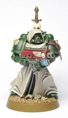 Tale of Painters: Tutorial: How to paint Dark Angels (from Dark Vengeance)