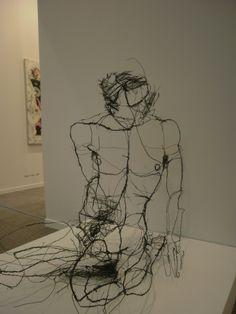 Wire sculptures / David Oliveira | WeWasteTime