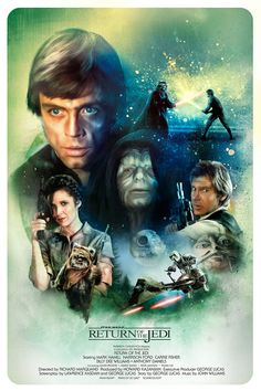 Star Wars EP IV - VII on Behance