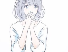 Find images and videos about girl, text and kawaii on We Heart It - the app to get lost in what you love. Manga Kawaii, Manga Anime, Anime Art Girl, Manga Girl, Anime Style, Chibi, Character Art, Character Design, Wie Zeichnet Man Manga