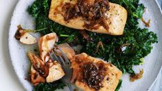 Adam Liaw's fish in a flash (with panache)