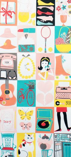NEW++Alexander+Henry+Fabric++Mademoiselle++by+BelloBerryFabricShop,+$8.50