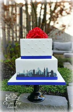 Londen Wedding Cake