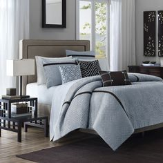 Highgate 6-Piece Duvet Set - Bed Bath & Beyond