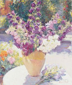 Flower Vase Prints by Edward Noott at AllPosters.com