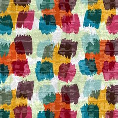 Nacho Filella Really loving these vibrant colors and the transparency in this pattern! Textile Pattern Design, Textile Patterns, Pattern Paper, Pattern Art, Abstract Pattern, Print Patterns, Textiles, Simple Prints, Surface Pattern