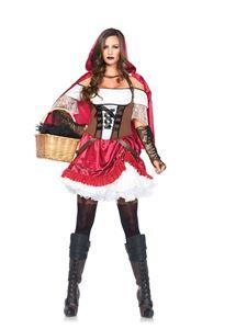 Rebel Riding Hood Adult Womens Costume - 346885   trendyhalloween.com #womenscostumes
