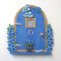 Blue Fairy Door   Flickr - Photo Sharing!