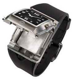Watch with hidden compartment