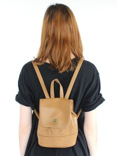 Refinery29 Shops: Clever Nettle Tino Faux Leather Mini Backpack - Vintage