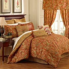 I pinned this Grand Bazaar Comforter Set from the Waverly event at Joss and Main!$139.95