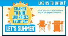 "Food Should Taste Good ""Let's Summer"" Instant Win Game (10,600 Winners!) on http://www.icravefreebies.com/"