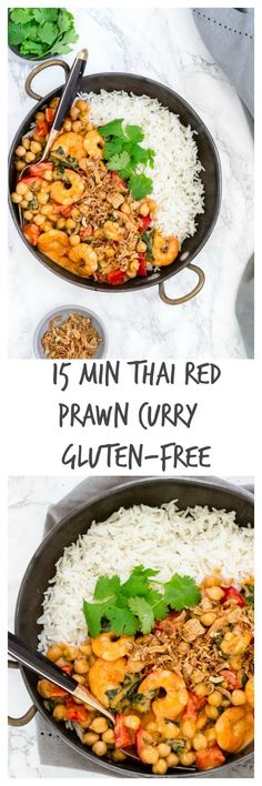 Short on time - then try this 15 Min Thai Red Prawn Curry | Recipes From A Pantry { gluten-free recipe | recipe | food | thai curry | prawn curry | quick recipe }