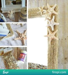 frame with string #decor #design #mirror #frame