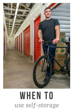 Let's face it, it's still too cold to ride your bike. Have you thought about keeping it in storage until the time is right? Click through to learn the best time to utilize a storage unit. Storage Solutions, Storage Ideas, Rustic Closet, Self Storage Units, Closet Designs, Small Apartments, Kitchen Organization, Trendy Fashion, The Unit