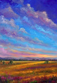 Field Of Flowers Canvas Print / Canvas Art by Jeff Pittman