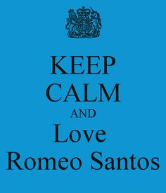 Keep calm & Romeo Santos =)