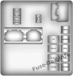 8 best chevrolet traverse (2009-2017) fuses and relays images ... 2012 traverse fuse box  pinterest