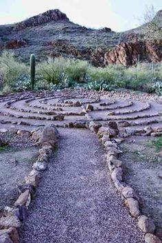 We plan to put a labyrinth on our Farm. Labyrinth Walk, Labyrinth Garden, Garden Art, Garden Design, Labrynth, Meditation Garden, Foto Real, Wedding Spot, Pergola