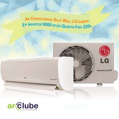 """Os melhores produtos da LG você encontra aqui!  - Ar Condicionado Split Wall LG Libero E+ Inverter 9000 btu/h Quente-Frio 220v >>  """"Muito mais economia de energia. Resfriamento rápido. Maximiza o conforto do usuário. Ultrasilencioso. Ionizador Ion Care +. Respire saúde. Filtro multiproteção LG com tecnologia 3M. Instalação rápida e fácil."""" >> Preço e outras informações aqui: >> http://www.arclube.com.br/"""