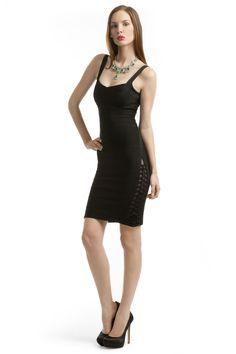 The Bachelorette Weekend in Chicago  Little Black Dress- I loved it! Hervé Léger Uncontrollable Dress
